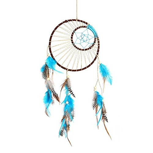 UNAKIM--Handmade Dream Catcher with Feathers Wall Hanging Decoration Car Ornament - Hours Chicago Macy's