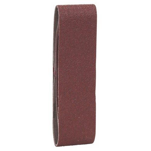 Wolfcraft 8415000 8415000-5 Bandas abrasivas Grano 40,80,120 Set de 5 Piezas Plata