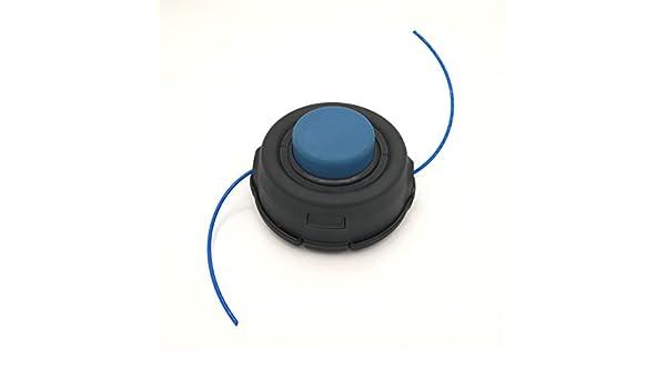 Shioshen Grifo Alimentación Cabeza Trimmer 10mm Doble Línea ...
