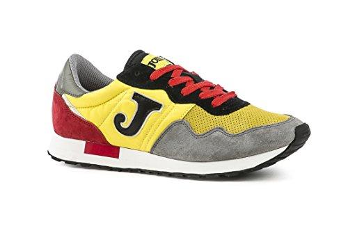 Gris Amarillo Negro Gris Libre Men Adulto al 367 Aire Polideportivas Negro Zapatos 609 Amarillo Joma C Unisex wUaqpX6