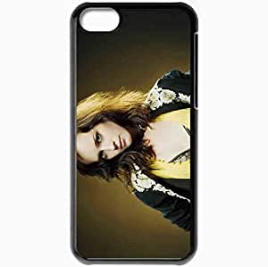 Personalized iPhone 5C Cell phone Case/Cover Skin Alexis bledel actresses famous for being star of the cws gilmore girls and im reed fish Black