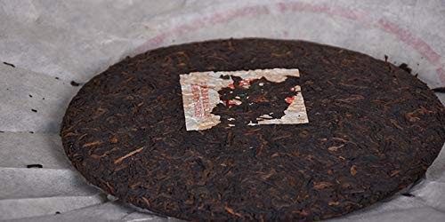 Pu'er tea, tea, old tea, Pu'er, cooked tea, tea, seven cakes, tea, 2003 [Chinese tea, custom grade A, green Yinpu, cooked tea] Yunnan dry warehouse, stored in the ground, aroma, mellow and mellow [Yun by NanJie (Image #1)