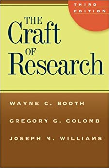 The craft of research pdf 3rd edition