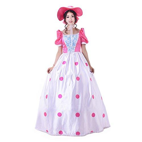 1791's lady Women's Dress For Jessie Cosplay Costume XXL -