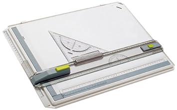 Aristo - Tavolo da disegno in plastica Profi Plus, formato A4, bianco