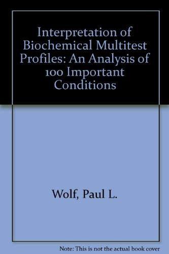 Interpretation of biochemical multitest profiles: An...
