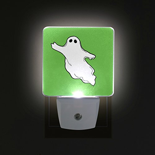 DEYYA Halloween-Photos-Flying-Ghost-Clipart LED Night Light,Plug in Nightlights with