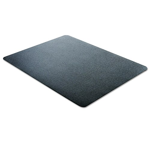 deflecto CM21242BLK EconoMat Anytime Use Chair Mat for Hard Floor 45 x 53 Black Photo #4