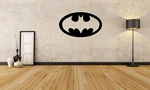 "Batman Shield - Large Wall Decal Sticker Home Decor 23"" x 14"""