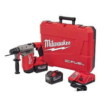 "Milwaukee 2715-22HD M18 Fuel 1-1 / 8"" SDS Plus Rotary Hammer"