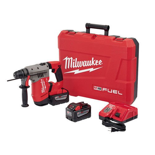 Milwaukee 271522HD M18 FUEL 1-1/8 in. SDS-Plus D-Handle Rotary Hammer Kit -