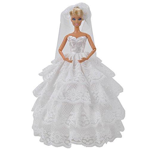 handmade barbie dress - 4