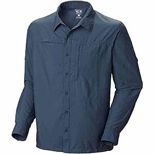 Mountain Hardwear Canyon Shirt LS Men-Union Blue-M