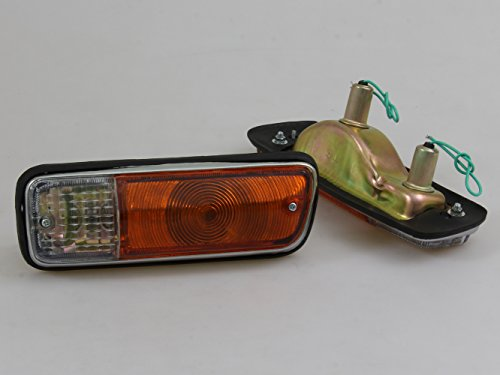 FRONT TURN SIGNAL LIGHTS LH/RH NEW ( 2 PIECES ) FIT FOR DATSUN 521 TRUCK