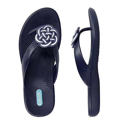 Oka B Raleigh Made in USA Sandal (Medium / 7-8 B(M) US, Sapphire)