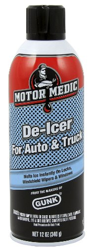 Motor Medic by Gunk DE1 Automotive Windshield De-Icer - 12 oz.