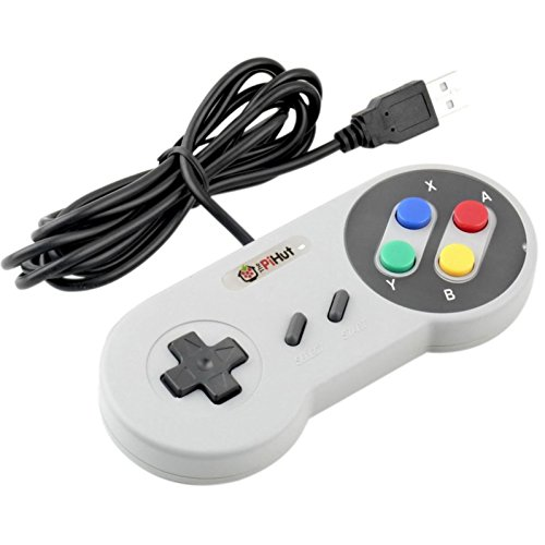 Raspberry Pi Compatible USB Gamepad / Controller (
