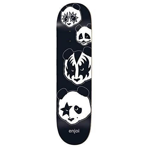 (Enjoi Kiss Logo R7 Skateboard Deck,8.0,Black)