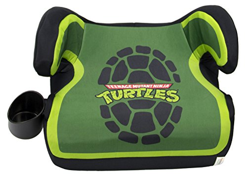 Nickelodeon KidsEmbrace Belt Positioning  Backless Booster Car Seat, Teenage Mutant Ninja Turtles