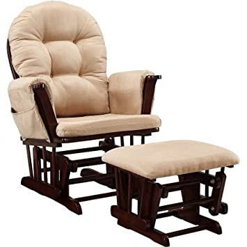 Incredible Amazon Com Baby Relax Harbour Glider Rocker And Ottoman Set Ibusinesslaw Wood Chair Design Ideas Ibusinesslaworg