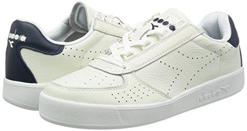 Bianco blu A Basso Premium B Diadora Mar bianco Collo Caspio Sneaker Uomo L elite wTznPx61