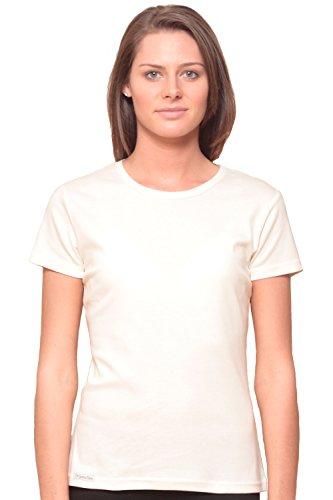 - Altai Women's Organic Cotton Fair Trade Shirt - White S