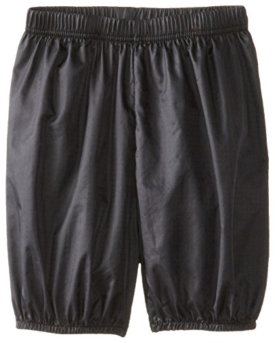 Clementine Little Girls' Ripstop Bloomer Shorts, Black, 4-6