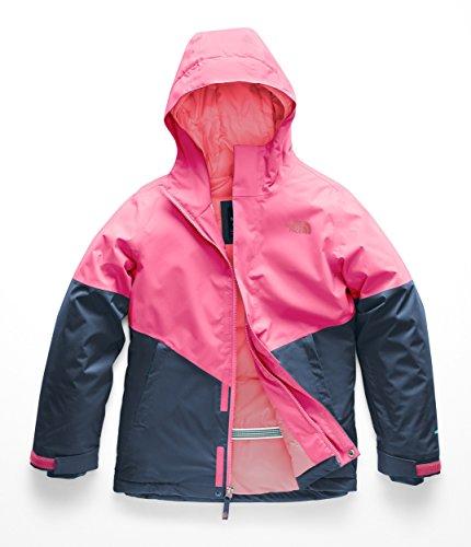 The North Face Kids Girl's Brianna Insulated Jacket (Little Kids/Big Kids) Atomic Pink Medium