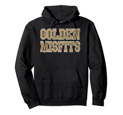 Unisex Golden Misfits Shirt - Hockey Hoodie XL: Black