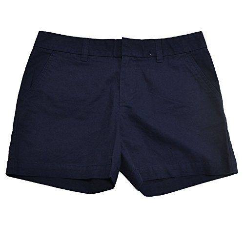 Tommy Hilfiger Womens Chino Shorts (Masters Navy, 0)
