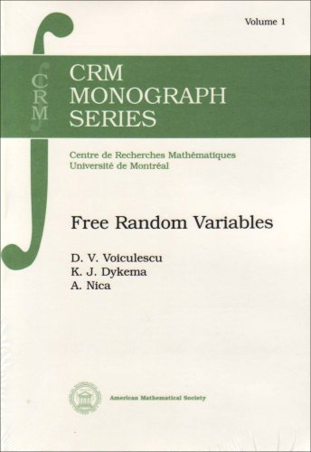- Free Random Variables (Crm Monograph Series) by Kenneth J. Dykema (1992-12-28)