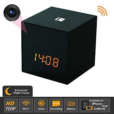 SpyGear-Titathink TT531WN-PRO Enhanced Night Vision HD Wifi Covert Hidden Nanny Spy Clock Network camera - Titathink