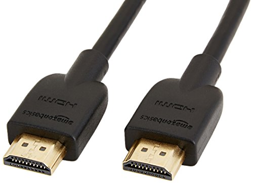 AmazonBasics High-Speed HDMI Cable, 6 Feet, 24-Pack
