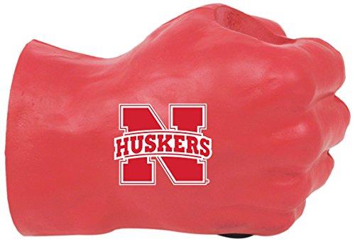 Nebraska Fan (NCAA Nebraska Cornhuskers Fan Fist Beverage Holders, Adult, Team Color)