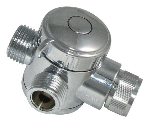 LDR 520 2459C Universal Three-Way Shower Diverter, Chrome by LDR Industries