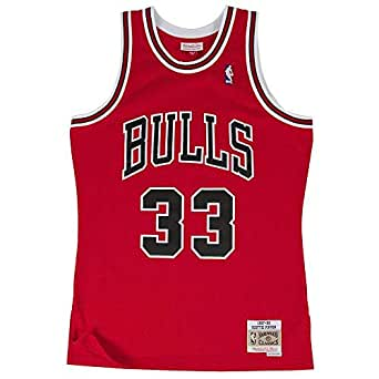 Mitchell & Ness Chicago Bulls Scottie Pipen Camiseta sin mangas red
