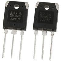 DealMux 2SB688 + 2SD718 8A 200V Silicon Power