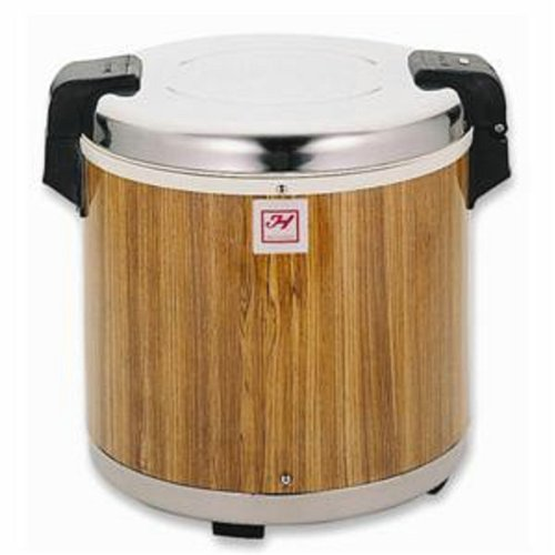 WOOD GRAIN 50 CUPS RICE WARMER