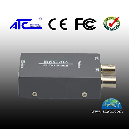 (Lysee BNC to RJ45 Joint Balanced to Non-Balanced Converter 75 Euro to 120 Euro Twisted-pair Coaxial)