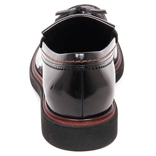 En Venta Tod's E7878 Mocassino Uomo Black Scarpe Shiny Leather Loafer Shoe Man Nero Comprar Barato Libre 2018 Visitar Nueva En Venta yRlLA