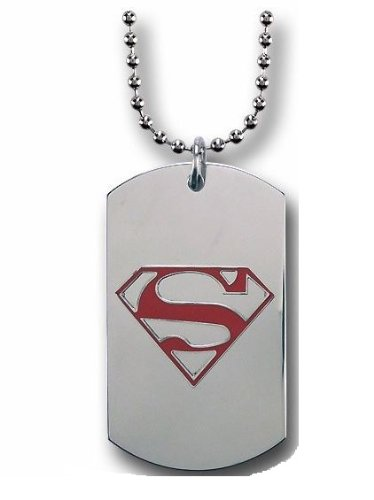 Amazon Warner Manufacturing Superman Red Symbol On Stainless