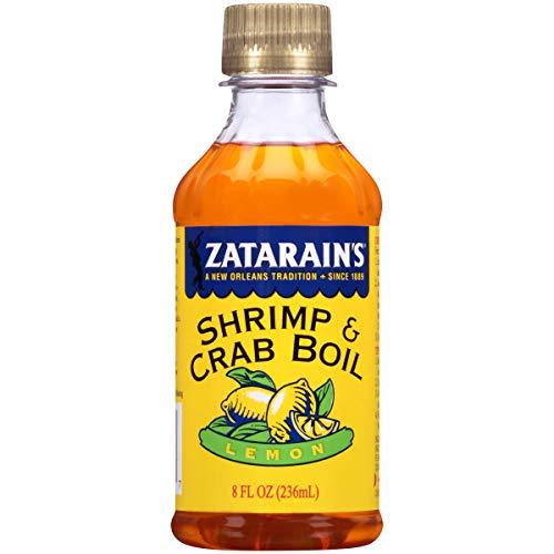 Zatarain's New Orleans Style Liquid Crab Boil With Lemon, 8 oz (Pack of 6)