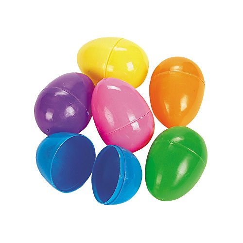 Easter Eggs - Plastic Bright Egg Assortment (60 Ct.)