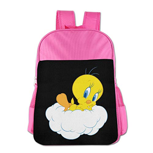 Kids' Tweety Bird Children's Backpack School Bags School Backpack Bag Bookbag Travel Daypack For Boys -