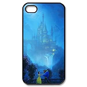 TYH - Beauty and The Beast iphone 4/4s case Tide Apple iPhone 4/4s Best Case Cover ending phone case