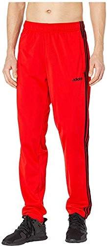 [adidas(アディダス)] メンズウェア・ジャケット等 Essentials 3-Stripes Tricot Track Pants Active Red/Black US XL (XL) R [並行輸入品]