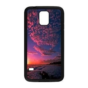 Cloud Series, Samsung Galaxy S5 Cases, the Love of the Pink Cloud Cases for Samsung Galaxy S5 [Black]