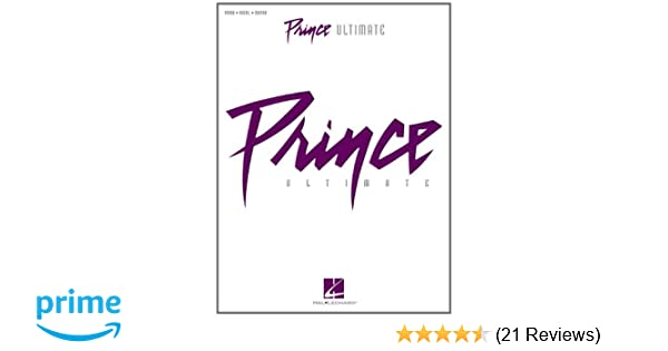 Amazon Prince Ultimate 0884088540883 Prince Books