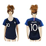 2018 Russia World Cup France Home Womens Soccer Jersey