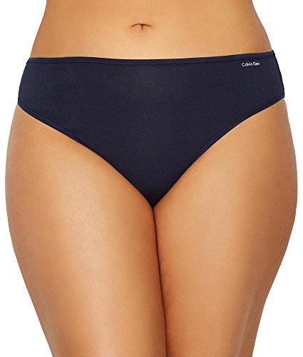 Calvin Klein Women's Plus Size Form Bikini, Shoreline, 3X